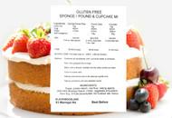Gluten Free Sponge / Pound Cake Mix (1kg)