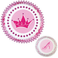 Wilton - Princess Shoe Baking Cups (75 Pcs.)