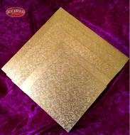 Gold Cardboard Cake Base (Square)