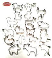 Assorted Animals Cookie Cutters