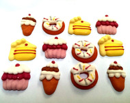 Blackwood Lane - Cupcake and Donuts Cake Toppers (12pcs)