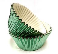 Green Foil Patty Pans  (Size #408 - 30)
