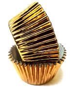 Gold Foil Patty Pans  (Size #398 - 20)