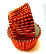 Orange Foil Patty Pans  (Size #408 - 30)