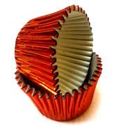 Orange Foil Patty Pans  (Size #398 - 20)