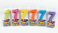 Australian Flour Power - Seven Mini Number Candle
