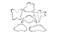 Wilton - Bug Buddies Cookie Cutter Set (6 Cutters)