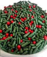 Blackwood Lane - Green Sprinkles with Red Pearls (100g)