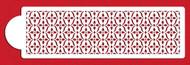 Designer Stencils - French Medallion Lattice Cake Stencil (10.16cm x 36 cm)