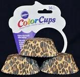WILTON COLOUR CUPS- LEOPARD
