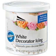 WILTON - WHITE DECORATOR ICING