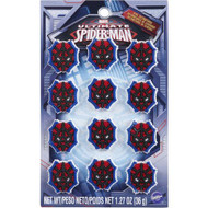 Wilton - Ultimate Spiderman Icing Decoration (12 Pcs.)