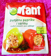 Fant - Stuffed Peppers and Cabbage (60g)