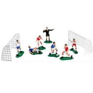 Soccer Team Set Cake Toppers (9 Pcs.)