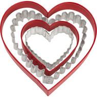 Heart Cookie Cutter set of 4