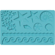Sea Themed Fondant and Gum Paste Mould