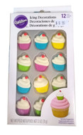 Wilton - 12 Piece Cupcake Icing Decoration