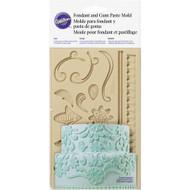 Wilton - Floral Themed Fondant and Gum Paste Mould
