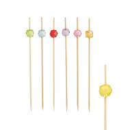 """Papstar - Fingerfood Skewers Colours Assorted """"Square"""" (100pcs)"""