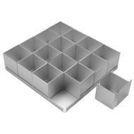 Silverwood - Mini Cake Pan Set 16Pcs. (5cm)