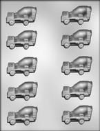 CK - Cement Mixer Truck Chocolate Mold (5.40cm)