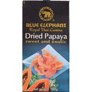 Blue Elephant - Dried Papaya Slices (100g)