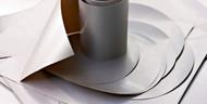 Bake-O-Glide- Delia Oblong Tin Liners (34cm x 28cm)