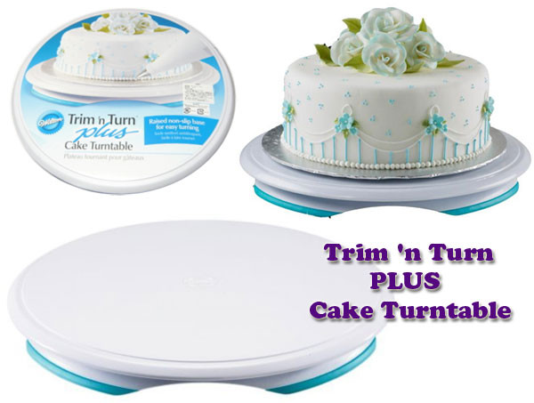 Wilton Trim-n-Turn Plus Cake Turntable Blackwood Lane