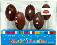Art Wrap - NFL Ball Party Candle