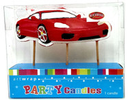 Art Wrap - Ferrari Car Party Candle