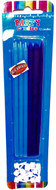 Art Wrap - Blue Party Candle (12pcs)