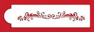Designer Stencils - Florentine Scroll Cake Side Stencil