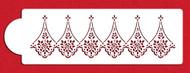Designer Stencils - Alencon Lace Companion Cake Stencil