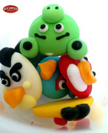 Angry Birds Cake Toppers (3pcs)