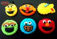 Sesame Street Cake Toppers (6pcs)
