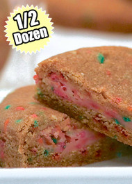Confetti Cookie STUFT with Birthday Cake – Half (1/2) Dozen