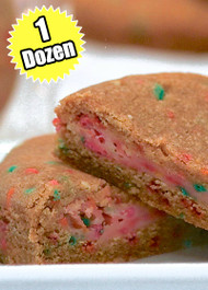 Confetti Cookie STUFT with Birthday Cake – One (1) Dozen