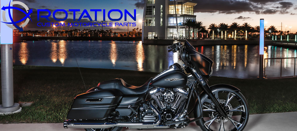Rotation Custom Motorcycle Wheels Parts & Accessories