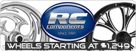 RC Components Custom Motorcycle Wheels