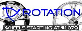 Rotation Custom Motorcycle Wheels