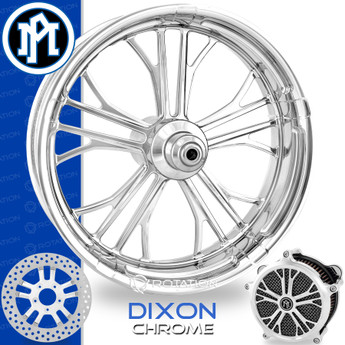 Performance Machine Dixon Chrome Custom Motorcycle Wheel