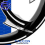 Rotation Falcon Darkside Custom Motorcycle Wheel