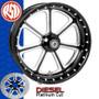Roland Sands Design Diesel Contrast Cut Custom Motorcycle Wheel
