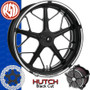 Roland Sands Design Hutch Contrast Cut Custom Motorcycle Wheel
