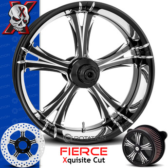 Xtreme Machine Xquisite Cut Custom Motorcycle Wheel