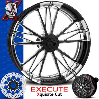 Xtreme Machine Execute Xquisite Cut Custom Motorcycle Wheel