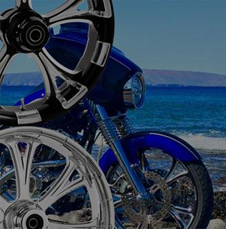Custom Motorcycle Wheels