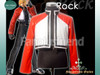 The King of Fighters Cosplay, Rock Costume, Short Jacket!!
