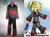 Naruto Cosplay, Akatsuki, Deidara's Special Version Jacket & Pants