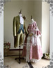 Side View (Pink Brocade + White Ver.) (gentleman outfit: CT00254)